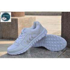 ราคา Secen Style สำหรับผู้หญิง รองเท้ากีฬา สวมใส่สบาย ใส่ได้หลายโอกาส ใส่ออกกำลังกายได้ สีขาว ไทย