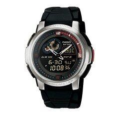 ขาย Casio รุ่น Aqf102W 1B ของแท้ รับประกันศูนย์ 1 ปี นาฬิกาข้อมือผู้ชาย สายเรซิ่น ราคาถูกที่สุด