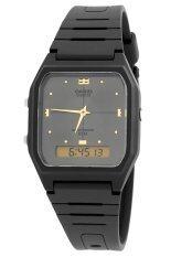 ราคา Casio นาฬิกาข้อมือชาย หญิง สีดำ รุ่น Aw 48He 8Avdf