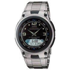 ขาย ซื้อ Casio Aw82D 1A นาฬิกาผู้ชาย สายสแตนเลส ประกันศูนย์ 1 ปี