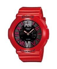 ซื้อ Casio Baby G นาฬิกาข้อมือ สายเรซิ่น รุ่น Bga 160 4Bdr Red ใน ไทย