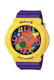 Casio Baby G Women S Yellow Resin Strap Watch Bga 131 9B Casio Baby G ถูก ใน ฮ่องกง