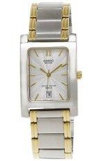 ราคา Casio Beside นาฬิกาผู้หญิง สายสแตนเลส รุ่น Bel 100Sg 7Avdf Silver ใหม่