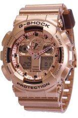 ซื้อ Casio G Shock Analog Digital นาฬิกาข้อมือชาย สีทอง สายเรซิ่น Ga 100Gd 9 ใน นนทบุรี