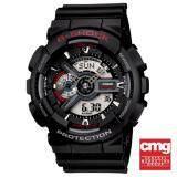 โปรโมชั่น Casio G Shock นาฬิกาข้อมือผู้ชาย สายเรซิ่น รุ่น Ga 110 1Adr สีดำ ถูก