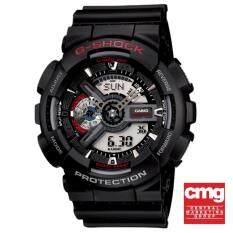 ราคา Casio G Shock นาฬิกาข้อมือผู้ชาย สายเรซิ่น รุ่น Ga 110 1Adr สีดำ เป็นต้นฉบับ Casio G Shock