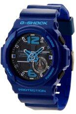 ขาย Casio G Shock นาฬิกาข้อมือผู้ชาย สีน้ำเงิน สายเรซิ่น รุ่น Ga 310 2Adr Casio G Shock ถูก