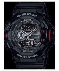 ราคา Casio G Shock นาฬิกาข้อมือ สายเรซิ่น รุ่น Ga 400 1Bdr สีดำ ใหม่