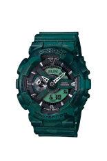 ขาย ซื้อ ออนไลน์ Casio G Shock Limited Edition นาฬิกาข้อมือผู้ชาย สายเรซิ่น รุ่น Ga 110Cm 3Adr Green