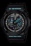 ซื้อ Casio G Shock Men S Watch Black Blue Resin Strap Series Ga 300Ba 1Adr Casio G Shock เป็นต้นฉบับ