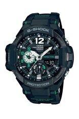 ส่วนลด Casio G Shock นาฬิกาข้อมือผู้ชาย สีดำ สายเรซิ่น รุ่น Ga 1100 1A3