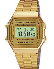 ทบทวน Casio Gold Tone A168Wg 9Wdf Gold