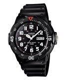 Casio นาฬิกาข้อมือ รุ่น Mrw 200H 1Bv Black สงขลา
