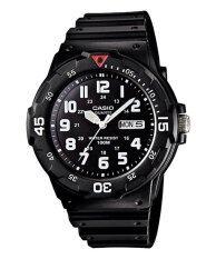 ราคา Casio นาฬิกาข้อมือ รุ่น Mrw 200H 1Bv Black ออนไลน์