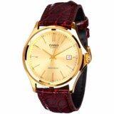 ซื้อ Casio นาฬิกาข้อมือ Gentlemen Watch Leather Band รุ่น Mtp 1183Q 9A ใหม่