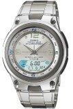 ราคา Casio Outgear นาฬิกาข้อมือผู้ชาย สีเงิน สายสแตนเลส รุ่น Aw 82D 7Avdf เป็นต้นฉบับ