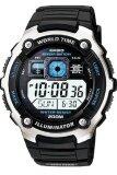 ขาย Casio Standard นาฬิกาข้อมือผู้ชาย สายเรซิ่น รุ่น Ae 2000W 1Avdf Black ใหม่
