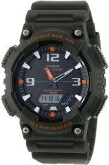 ขาย Casio Standard นาฬิกาข้อมือผู้ชาย สีเขียวทหาร สายเรซิ่น รุ่น Aq S810W 3Avdf Casio Standard ใน ไทย