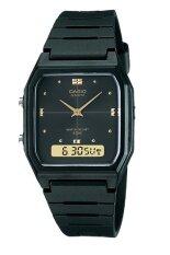 ขาย Casio Standard นาฬิกาผู้ชาย สายเรซิ่น รุ่น Aw 48He 1A Black ออนไลน์ นนทบุรี