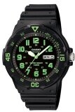 ซื้อ Casio Standard นาฬิกาข้อมือผู้ชาย สีดำ สายเรซิ่น รุ่น Mrw 200H 3Bvdf Casio Standard