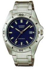 ขาย Casio Standard นาฬิกาข้อมือ คาสิโอ สายสแตนเลส รุ่น Mtp 1244D 2Adf สีเงิน Casio