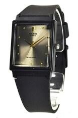 ราคา Casio Standard นาฬิกาข้อมือผู้ชาย สายเรซิ่น รุ่น Mq 38 8Adf Black Grey Casio Thailand