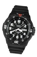 ราคา Casio Standard นาฬิกาข้อมือผู้ชาย สีดำ Resin Strap รุ่น Mrw 200H 1Bvdf ออนไลน์ ไทย