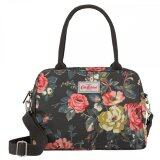 ราคา Cath Kidston Matt Oilcloth Busy Bag Handbag Crossbody Tote 16Ss Garden Rose Colour Charcoal 516051 Intl ราคาถูกที่สุด