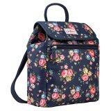 ราคา Cath Kidston Matt Oilcloth Handbag Backpack 16Ss Latimer Rose Colour Dark Navy 574273 สหรัฐอเมริกา
