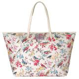 ขาย Cath Kidston Matt Oilcloth Large Trimmed Tote 16Ss Blossom Birds Colour Cream 555913 ออนไลน์