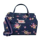 ขาย ซื้อ ออนไลน์ Cath Kidston Mini Multi Pocket Handbag Crossbody Bag 17Ss Mallory Bunch Navy 670920 Intl