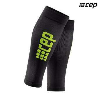 CEP Men's Ultralight Compression Calf Sleeve(Black/Green)