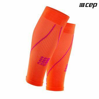 CEP Women's Compression Calf Sleeve 2.0 Sunset/Pink