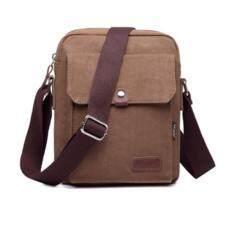 ราคา Cest Chic กระเป๋าสะพายผ้าแคนวาสไซส์ Mini Ipad สีน้ำตาล Cest Chic ใหม่