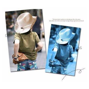 CHANEE Cowboy Kids หมวกคาวบอย สำหรับเด็ก - Beige