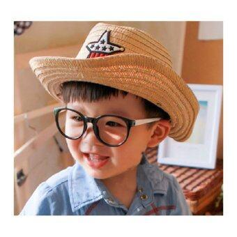 CHANEE Cowboy Kids หมวกคาวบอย สำหรับเด็ก - Coffee