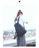 ราคา Chanee กระเป๋าเป้สะพายหลัง Backpack จากเกาหลี สไตล์ Minimal สีดำ ราคาถูกที่สุด