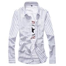 ซื้อ เสื้อลำลองลายเสื้อวรรณกรรมชาย สีขาว ออนไลน์ ฮ่องกง