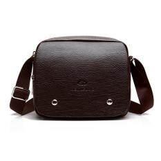 ขาย น้ำชายกระเป๋าสะพายข้ามส่วนถุง Messenger ใหม่ผู้ชายกระเป๋า สีน้ำตาล Other ผู้ค้าส่ง