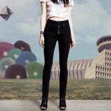 ซื้อ Charming กางเกงยีนส์ สกินนี่ ขายาว สีดำ รุ่น S101 ใหม่ล่าสุด