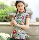 ขาย เสื้อผู้หญิงจีน ผ้าฝ้าย ความยาวขนาดกลาง ดัดแปลงจากชุดจีนฮั่น 1085 แขนสั้นข้าวโพดงาดำ 1085 แขนสั้นข้าวโพดงาดำ ผู้ค้าส่ง