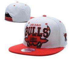 ชิคาโกบูลส์เอ็นบีเอหมวกตวัดกลับของผู้หญิงผู้ชายบาสเกตบอลหมวกกีฬา Beat - Boy เด็กชายง่าย - นานาชาติ By Bmuieo60ys.