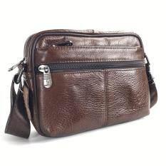 ขาย Chinatown Leather กระเป๋าสะพายหนังแท้ รุ่นซิปซ่อนนอน ใหม่
