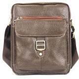 ขาย Chinatown Leatherกระเป๋าสะพายหนังแท้ห่วง ขนาด Ipad น้ำตาล ถูก