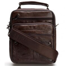 ราคา Chinatown Leather กระเป๋าสะพายหนังแท้หูจับแนวตั้งซิปยื่นหน้า ขนาด Ipad Mini สีน้ำตาล Chinatown Leather กรุงเทพมหานคร