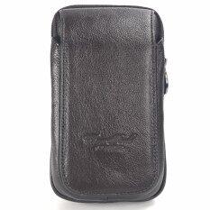 ราคา Chinatown Leatherกระเป๋าหนังแท้ใส่มือถือร้อยเข็มขัดรุ่นมือถือหนังแท้3เครื่องฝายาวตั้งIphone6 สีน้ำตาล ออนไลน์