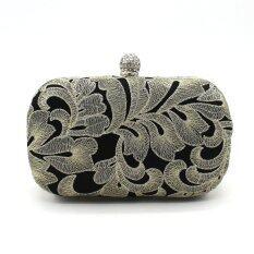 ขาย Chinese Traditional Embroidery Lace Satin Party Bag Hand Bag Wedding Cluth Handbag ถูก