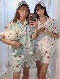 ขาย Chinjung Pajamas ชุดนอนชินจัง สีเขียว Inspiredream Shop ผู้ค้าส่ง