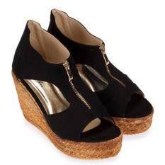 ราคา Chowy รองเท้าส้นเตารีด รุ่น Kr0235 สีดำ ออนไลน์ สมุทรปราการ