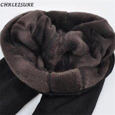 Chrleisure Hot 2017 New Fashion Women S Autumn And Winter High Elasticity And Good Quality Warm Leggings Thick Velvet Pants Free(Purple) Intl ใหม่ล่าสุด